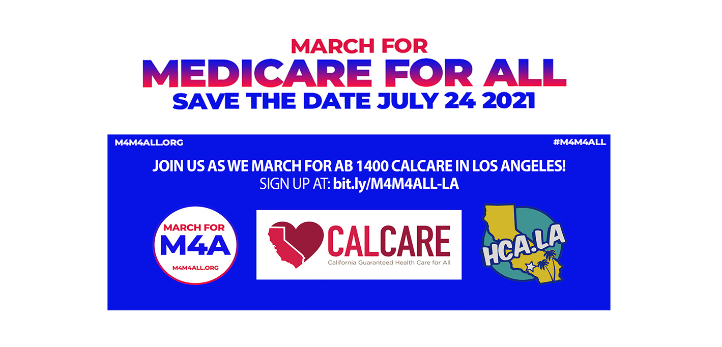 July 24th March for Medicare for All